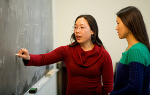 Claire Chow, doctoral student in the Applied and Computational Mathematics and Statistics program
