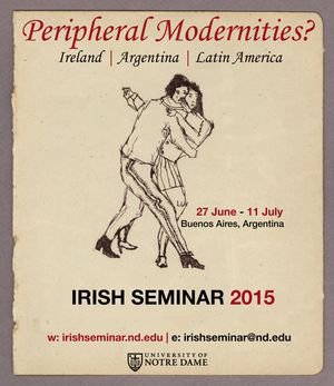 Notre Dame's Irish Seminar moves from Ireland to Argentina