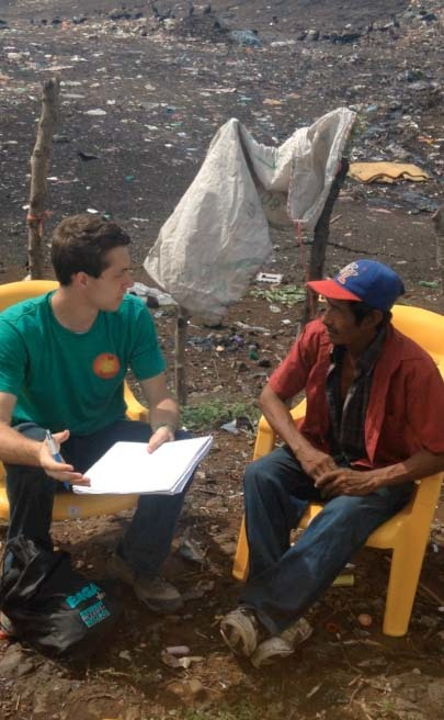 Senior Mark Brahier explores barriers to healthcare in Nicaragua