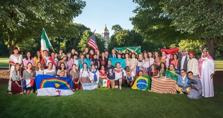 Notre Dame hosts 10th annual Fulbright Foreign Language Teachers orientation
