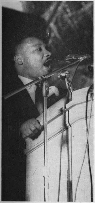 King at Stepan Center, 1963