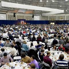 The Martin Luther King, Jr. Celebration Luncheon in the Joyce Center 2016.
