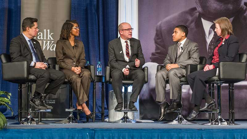 Panelists at 2016 Martin Luther King Jr Celebration Luncheon