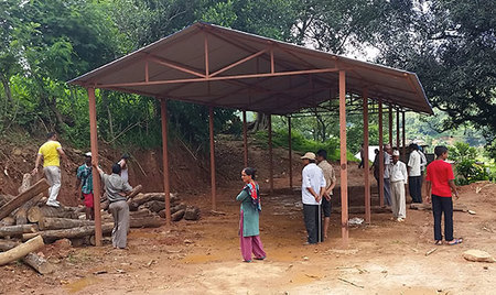 Graduate student travels to Nepal to design and construct housing for earthquake victims