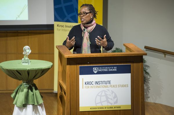 Karsonya Wise Whitehead discusses her life as a peace activist