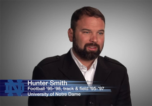 Hunter Smith '99 kicks way to music stage