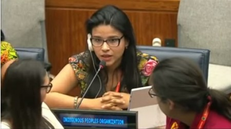 CCHR graduate addresses U.N. forum on indigenous peoples