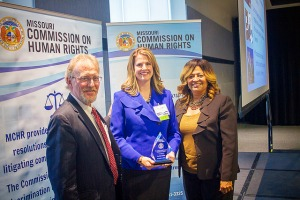 Cynthia Cordes, '04 J.D. receives award from Missouri Commission on Human Rights