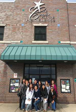 International students immerse themselves in the South Bend community