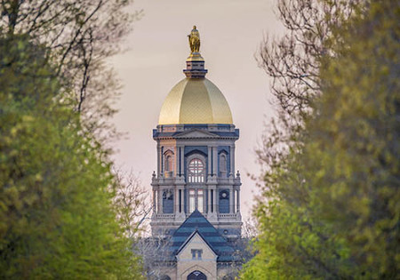 ND Named Top Roman Catholic College