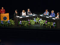 Vision and Action panel honors women faculty pioneers and looks to the future