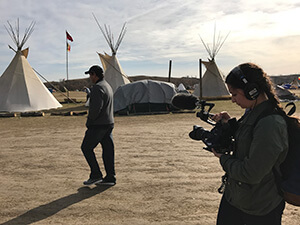 Student filmmakers offer special insights into Dakota Access pipeline drama