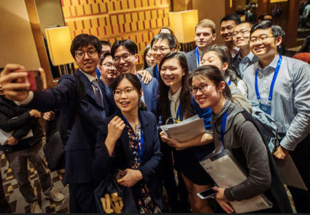 Students, alumni, parents and friends gather in Beijing to honor Greater China Scholars and tour new Beijing Global Gateway