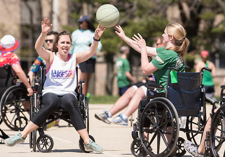 Annual Wheelchair Basketball Tournament
