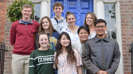 Dublin study abroad students find insights through community-based learning