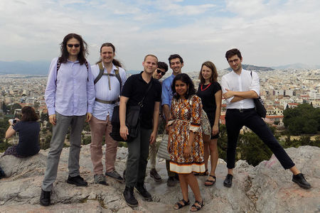 English graduate students travel to Greece for humanities consortium that fosters cross-disciplinary discussion and networking