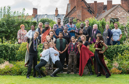 RCLC Shakespeare Company is featured in