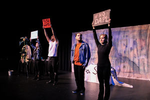 Hispanic Heritage Month series concludes with play
