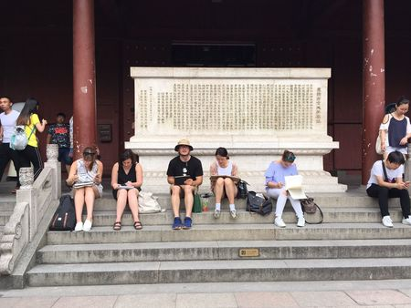 Students explore the ancient in contemporary China