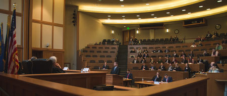NDLS hosts moot court tournament for religious freedom