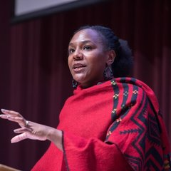 Writer, activist, speaker, and filmmaker, Bree Newsome delivers a keynote address to the campus community titled,