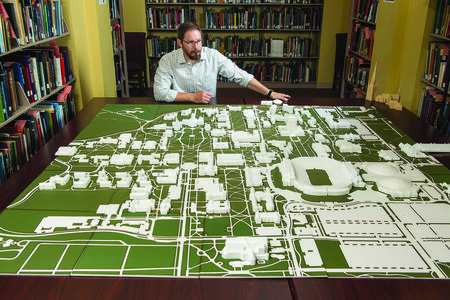 3D campus map assists students with visual challenges