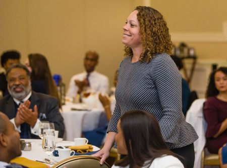 Black Law Students Association honors Ndidi Massay, '93 J.D., with alumni award