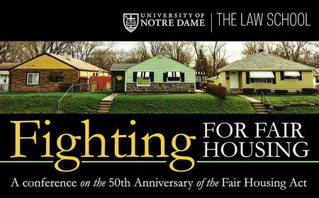 Conference to mark 50th anniversary of Fair Housing Act