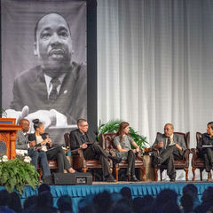 Panel discussion at the 2019 Martin Luther King Jr. Celebration Luncheon