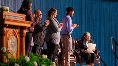 Diane Nash urges Notre Dame community to 'choose an issue that moves you' at MLK Celebration Luncheon
